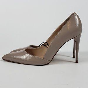 NEW!! Zara Woman Beige Point Toe High Heels